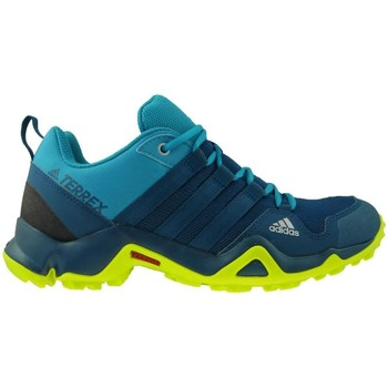 Shoes Children Walking shoes adidas Originals Terrex AX2R K Blue-Navy blue-Green