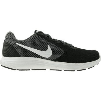 Shoes Men Low top trainers Nike Revolution 3 Black-White-Grey