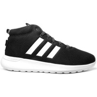 Shoes Men Hi top trainers adidas Originals Neo Cloudfoam CF Lite Racer Mid White-Black