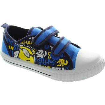 Shoes Boy Low top trainers Despicable Me Markham Low Blue