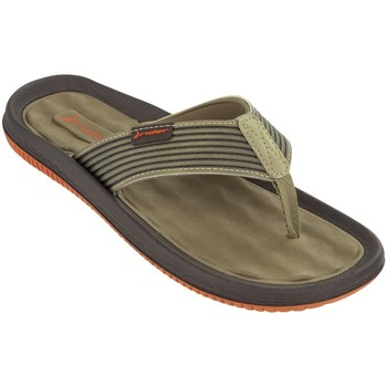 Shoes Men Flip flops Rider Orange and Beige Men Flip Flops Dunas VI BEIGE
