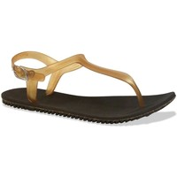 Shoes Women Sandals Amazonas Fun Uno Eco Sandals Women Brown and Gold BROWN