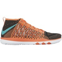 Shoes Men Hi top trainers Nike Train Ultrafast Flyknit Black-Brown