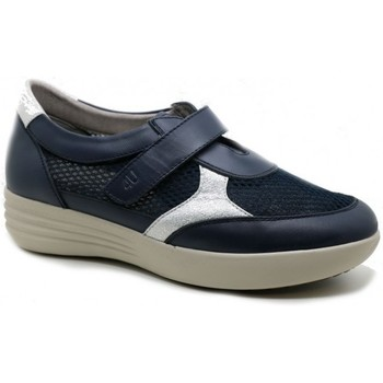 Shoes Women Low top trainers Relax 4 You BS17704 bleu