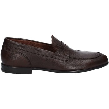 Shoes Men Loafers Marco Ferretti 160719 Mocassins Man Brown Brown