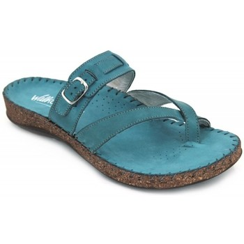 Shoes Women Sandals Walk & Fly 3861-22201 blue