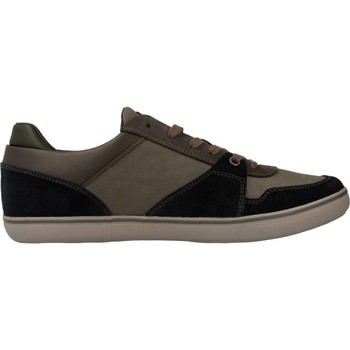 Shoes Men Low top trainers Geox U BOX Grey