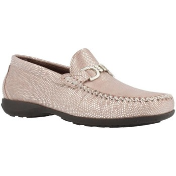 Shoes Women Loafers Pinosos 5321 Beige