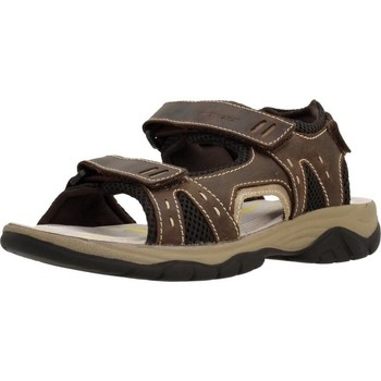 Shoes Men Sandals Stonefly MARK 1 LEATHER Brown