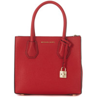 Bags Shoulder bags MICHAEL Michael Kors handbag model Mercer Messenger in red tumbled leather Red