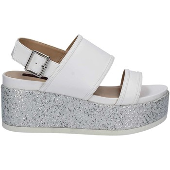 Shoes Women Sandals Fornarina PE17RI1010A009 Wedge sandals Women White White