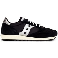 Shoes Men Low top trainers Saucony Jazz Original Vintage Trainers Black Black