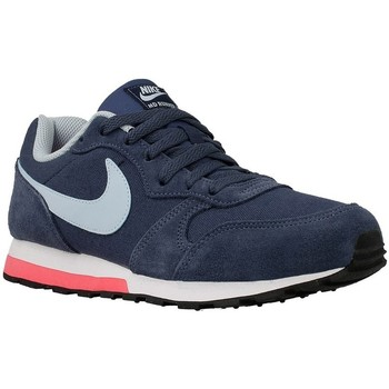 Shoes Children Low top trainers Nike MD Runner 2 GS Navy blue