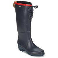Shoes Women Wellington boots Aigle MISS JULIETTE L Marine / Red