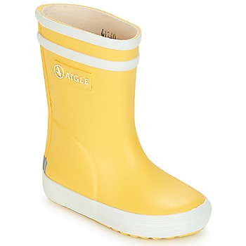 Aigle  BABY FLAC  girlss Childrens Wellington Boots in yellow