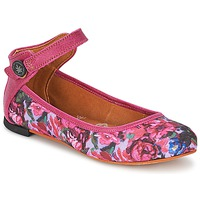 Shoes Women Flat shoes Art LILLE Pink