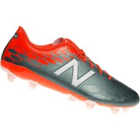 Shoes Children Football shoes New Balance Visaro 20 Control FG Grey-Red-White