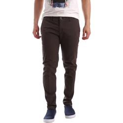 Clothing Men chinos Sei3sei PZV89 71336 Trousers Man Brown Brown