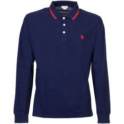 Clothing Men long-sleeved polo shirts U.S Polo Assn. U.s. polo assn. 38269 51711 Polo Man Blue Blue