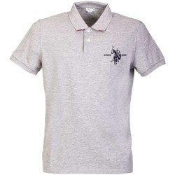 Clothing Men short-sleeved polo shirts U.S Polo Assn. U.s. polo assn. 38234 41029 Polo Man Grey Grey