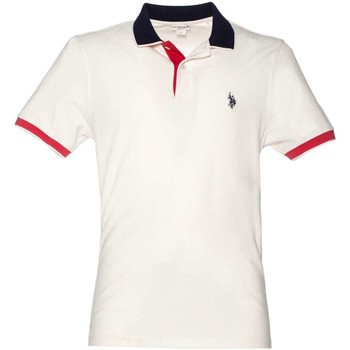 Clothing Men short-sleeved polo shirts U.S Polo Assn. U.s. polo assn. 38237 50336 Polo Man Bianco Bianco