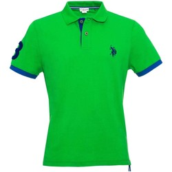 Clothing Men short-sleeved polo shirts U.S Polo Assn. U.s. polo assn. 38230 41029 Polo Man Verde Verde