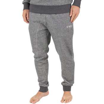 Clothing Men Tracksuit bottoms Armani Men's Marled Pyjama Bottoms, Grey grey