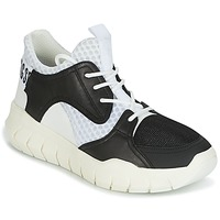 Shoes Men Low top trainers Bikkembergs FIGHTER 2022 LEATHER Black / White