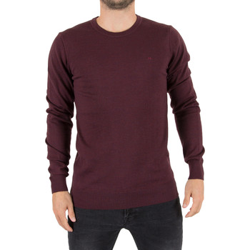 Clothing Men jumpers J Lindeberg Men's Lyle True Merino Logo Knit, Red red