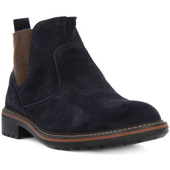 Shoes Men Mid boots Igi&co BRUSH BLU Blu