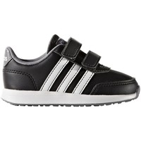Shoes Children Low top trainers adidas Originals VS Switch 2 Cmf Inf Black-White