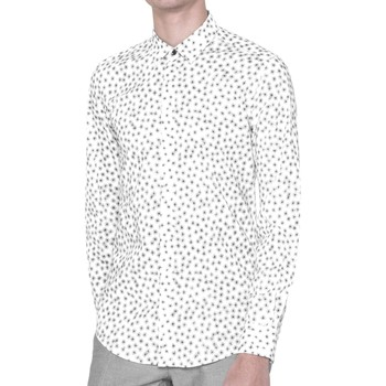 Clothing Men long-sleeved shirts Antony Morato MMSL00384 FA430264 Shirt Man White White