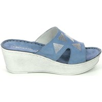 Shoes Women Mules Grunland CI2156 Sandals Women Blue Blue