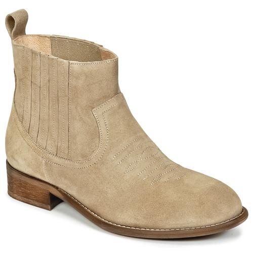Shoes Girl Mid boots Young Elegant People DEBBYM Beige