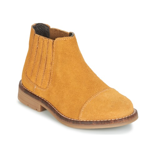 Shoes Girl Mid boots Young Elegant People FILICIAL Camel