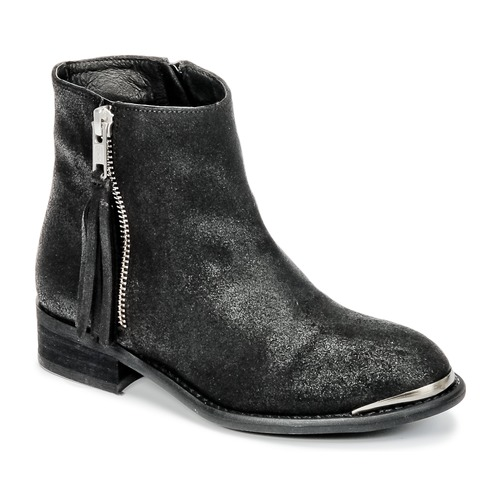 Shoes Girl Mid boots Young Elegant People AMELIAM Black