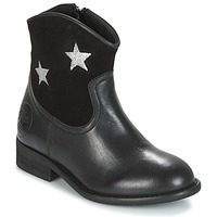 Shoes Girl Mid boots Young Elegant People FARAHI Black