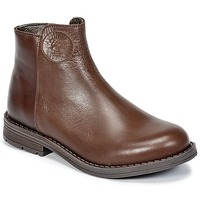 Shoes Girl Mid boots Young Elegant People IVONNET Brown