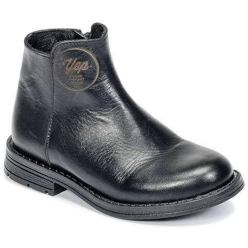 Shoes Girl Mid boots Young Elegant People IVONNET Black