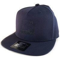 Clothes accessories Men Caps Starter Liner Snapback Cap - Navy Blue