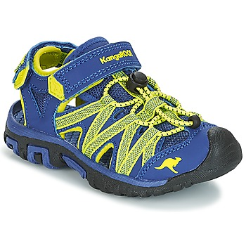 Shoes Children Outdoor sandals Kangaroos OSATO Blue / Green
