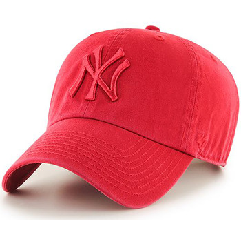 Clothes accessories Men Caps 47 Brand MLB NY Yankees Clean Up Cap - Red Red