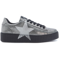 Shoes Low top trainers Nira Rubens Sneaker  in pelle laminata canna di fucile Grey