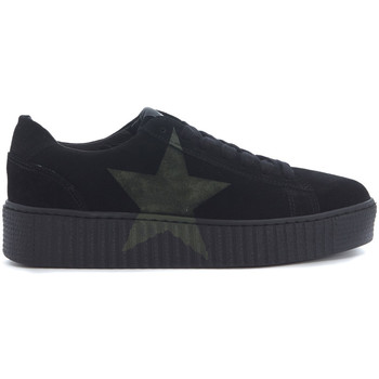 Shoes Low top trainers Nira Rubens Sneaker  in pelle scamosciata nera Black