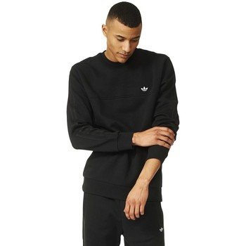Clothing Men jumpers adidas Originals Originals Classic Trefoil Crew Dresowa Black