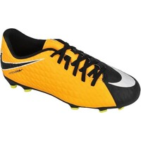 Shoes Children Football shoes Nike Hypervenom Phade Iii FG JR Yellow-White-Black