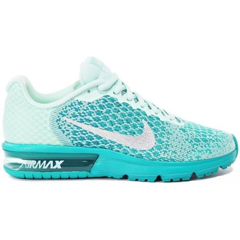 Shoes Children Low top trainers Nike Air Max Sequent 2 GS Green