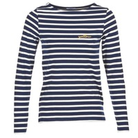 Clothing Women Long sleeved tee-shirts Betty London FLIGEME MARINE / White