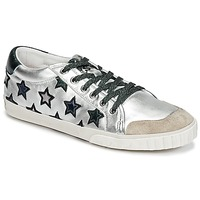 Shoes Women Low top trainers Ash MAJESTIC Silver