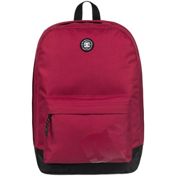 Bags Men Rucksacks DC Shoes Backstack Backpack - Rio Red Red